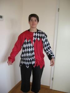 Arlequin noir & rouge