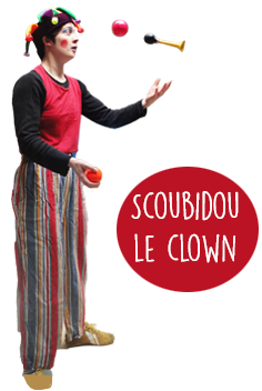 scoubidou le clown